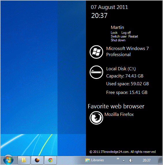 Windows 7 sidebar 60 download