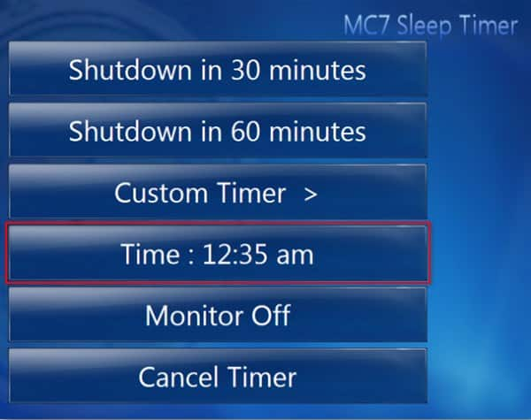 how to add a timer