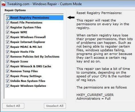 custom windows repair