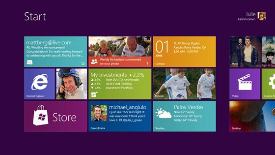 Microsoft Reveals Details About Windows 8's User Interface