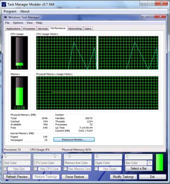 task manager modder