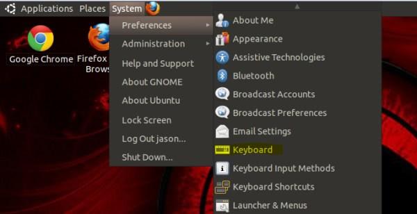 ubuntu keyboards