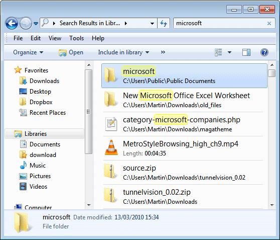 windows search скачать для windows 7