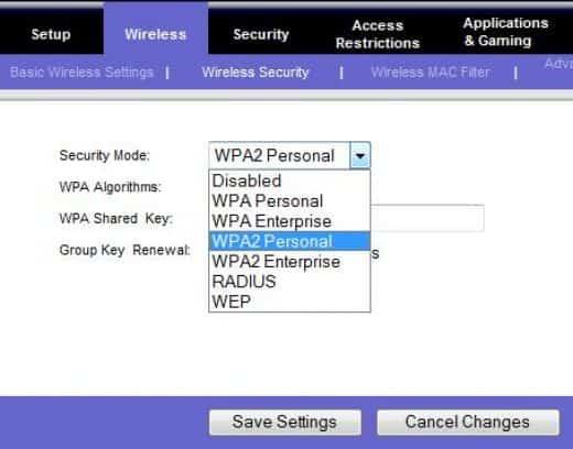 wireless encryption