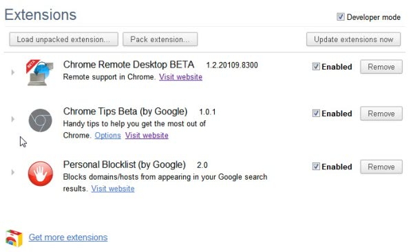 chrome extensions tips