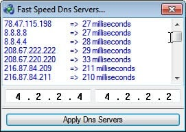 fast speed dns server