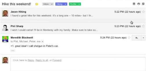 gmail conversations