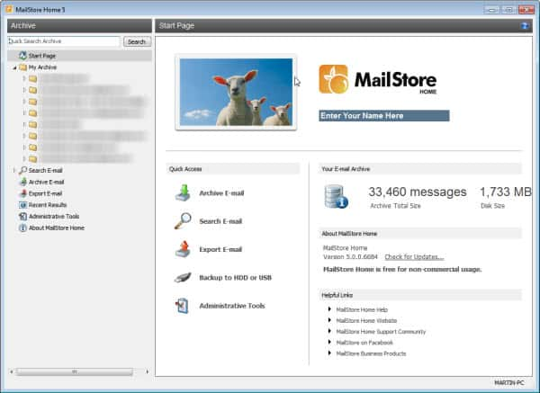 mailstore home 5