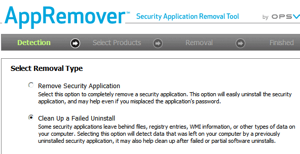 remove security software