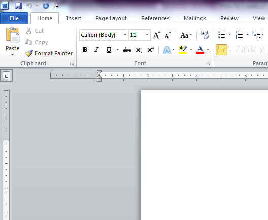 word master document