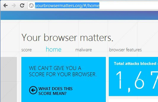 your browser matters