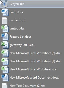 desktop icons text right