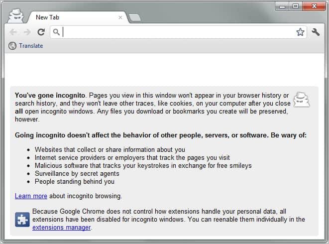 Ghost Incognito, Automate Private Browsing In Chrome ...