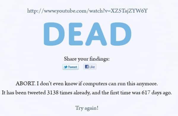 link dead
