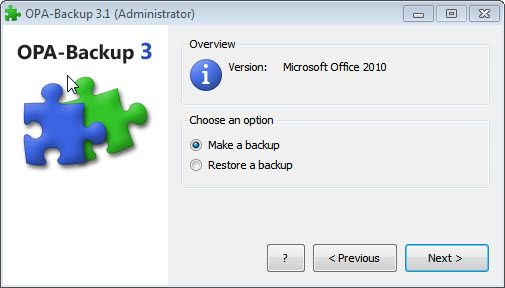 office activation backup