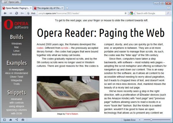 opera reader