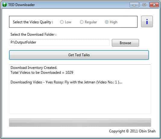 ted downloader