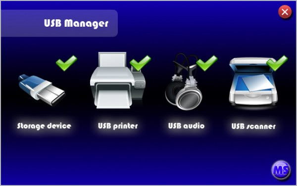 usbmanager