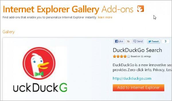 add to internet explorer