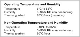 example temperatures western digital