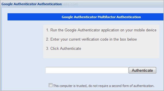 lastppass multifactor authentication