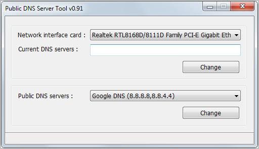 public dns server tool