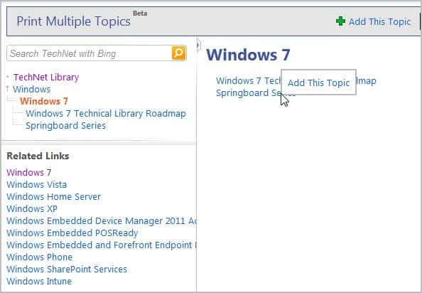 technet library