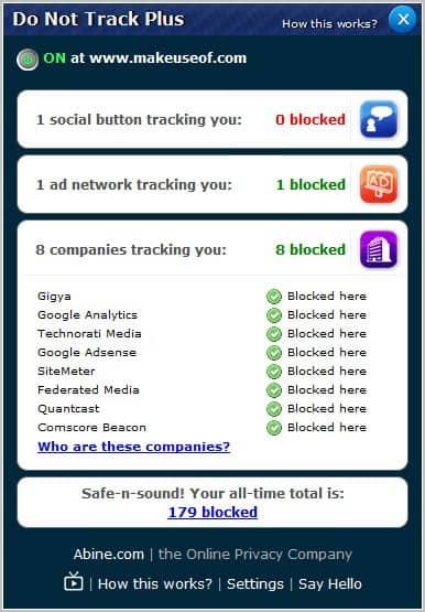block tracking scripts
