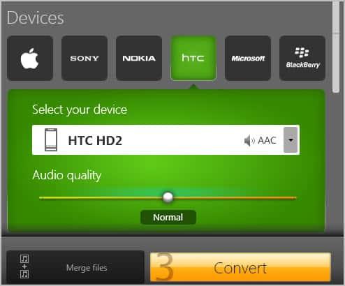 convert audio devices