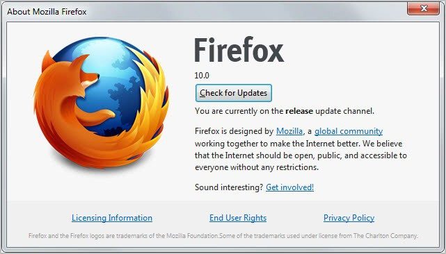 Firefox 10 Regular And ESR Released