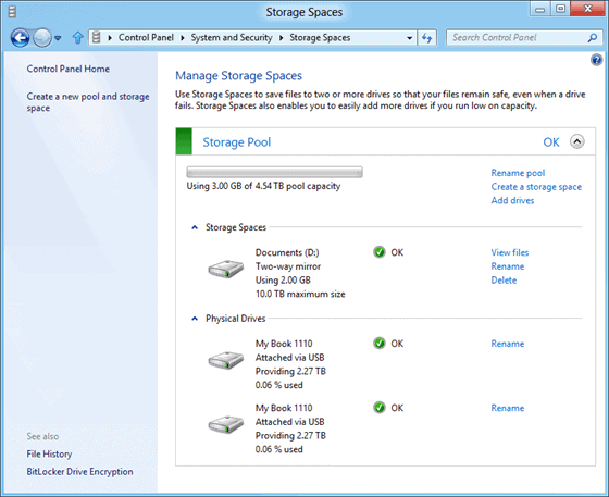 Windows 8 Storage Spaces, What You Need To Know