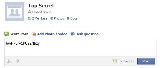 encrypt facebook messages