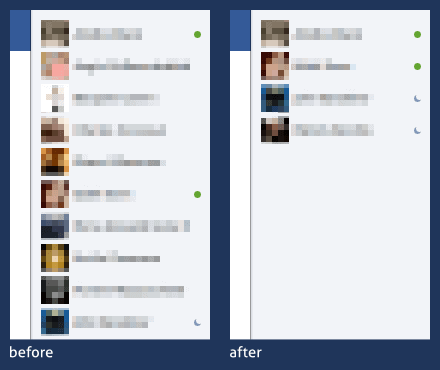 facebook chat addon