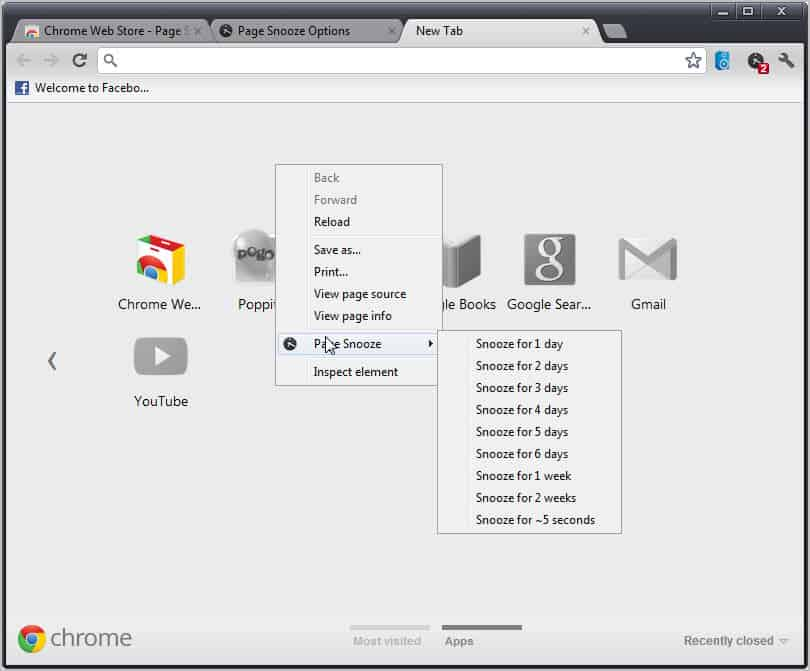 hide tabs chrome