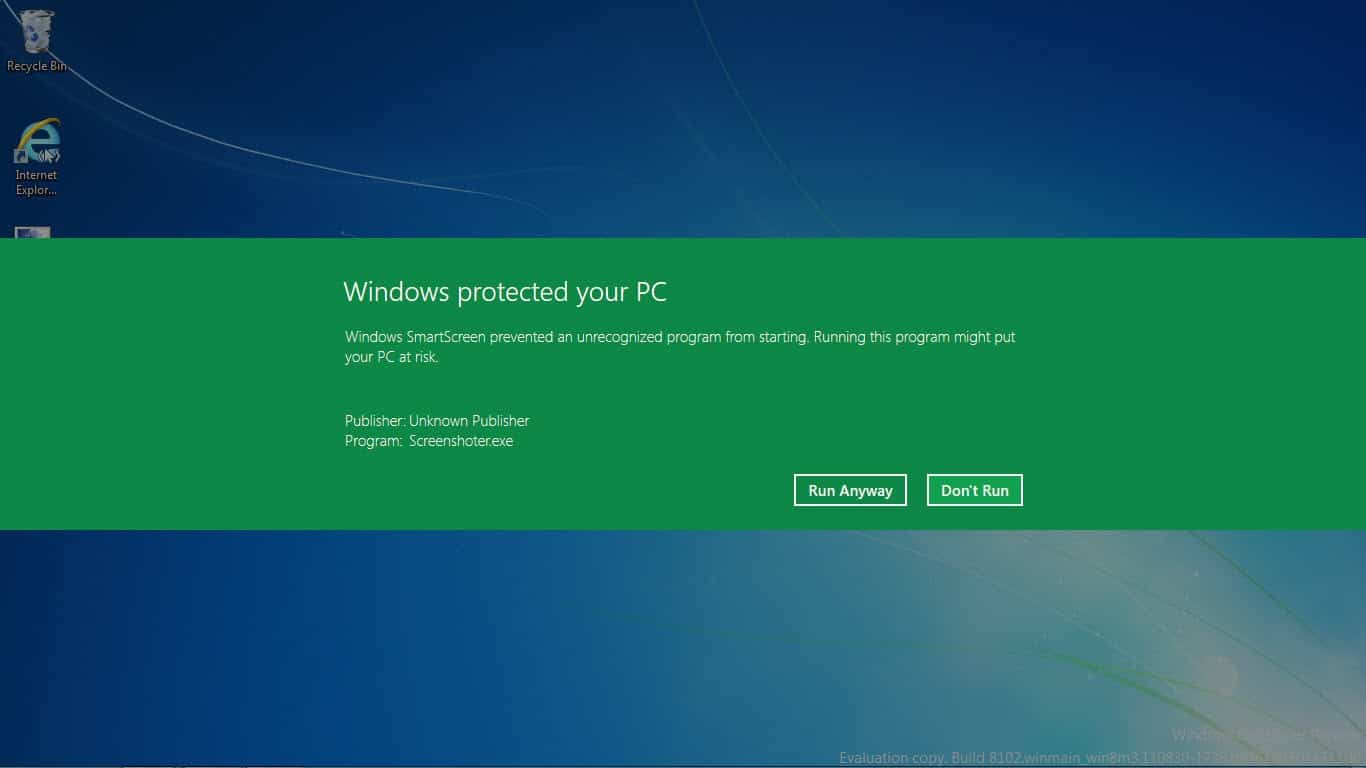 How to bypass smartscreen filter windows protected your for Windows windows