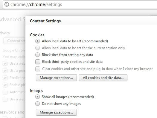 chrome disable features