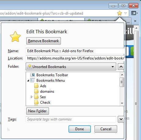 edit this bookmark