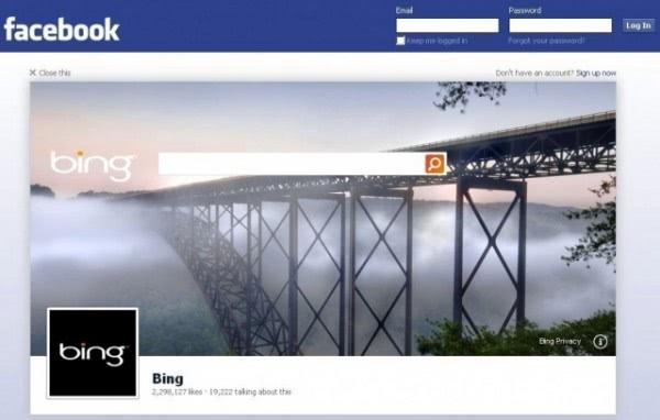 facebook logout ads