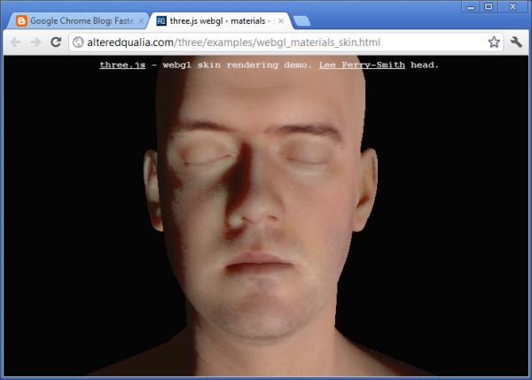 google chrome rendering