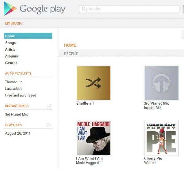 google play my music
