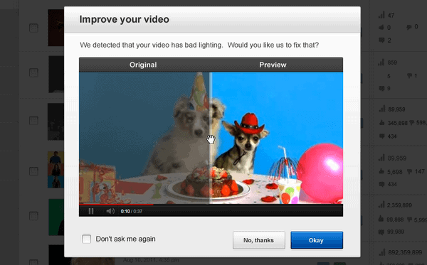 improve youtube videos