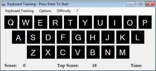 keyboard training