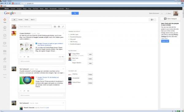 google+ whitespace
