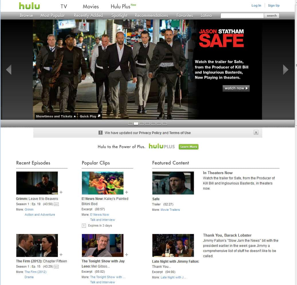 The Best Free TV Streaming Sites in 2012 - gHacks Tech News