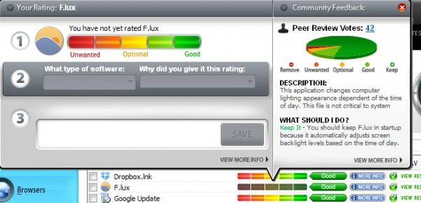 software ratings