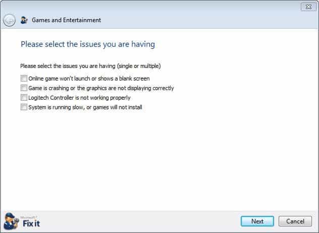 fix-it windows games