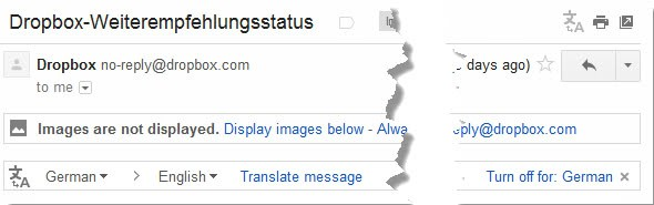gmail translate emails