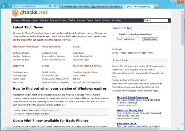 Internet Explorer 10 Tech Improvements « WTI NewsBlog