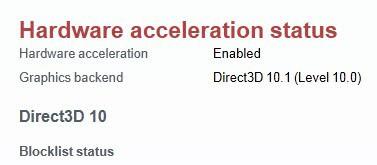 opera hardware acceleration