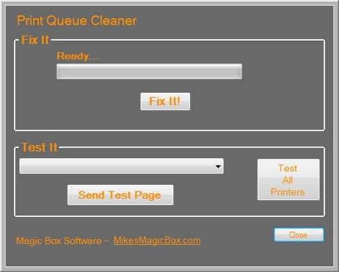 print queue cleaner